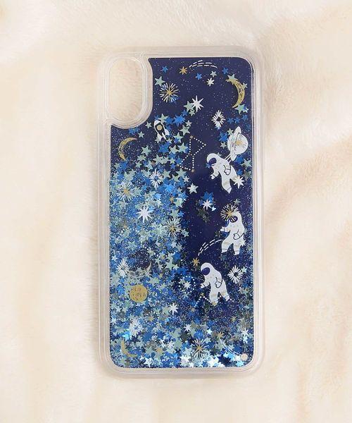 Afternoon Tea(アフタヌーンティー)の「オイルインiPhoneX/Xsケース(モバイルアクセサリー)」 ブルー