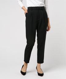 MEW'S REFINED CLOTHES(ミューズリファインドクローズ)の洗えるテーパードパンツ(パンツ)