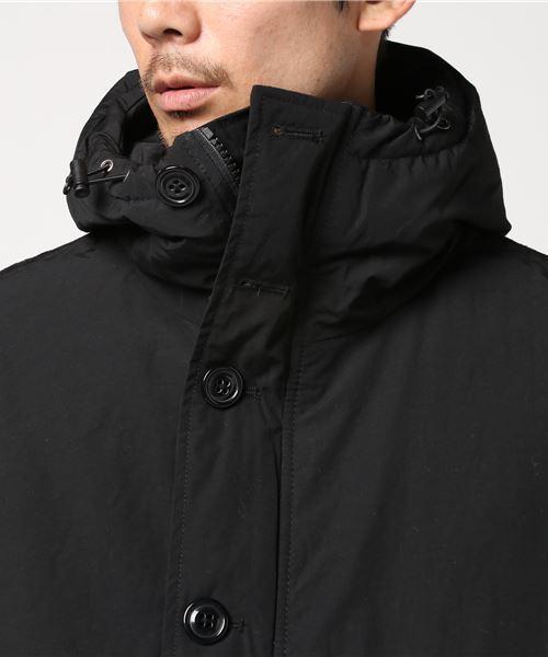 【HOUSTON SELECT】ナイロン中綿フードジャケット