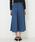 AZUL BY MOUSSY(アズールバイマウジー)の「レースアップフレアスカート(デニムスカート)」|詳細画像
