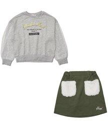 ALGY(アルジー)のトレーナー&スカートセット(スカート)