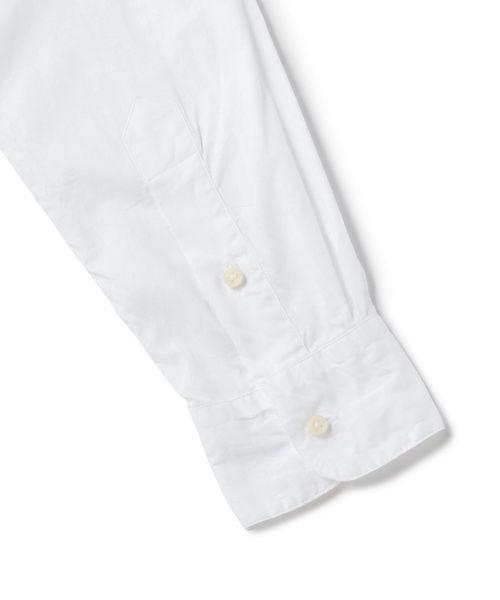 GITMAN VINTAGE: オックスフォード バンドカラー シャツ