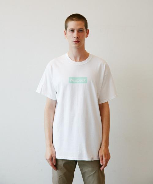 ROTTWEILER(ロットワイラー)の「Box Wolfpack Tee(Tシャツ/カットソー)」|ミント