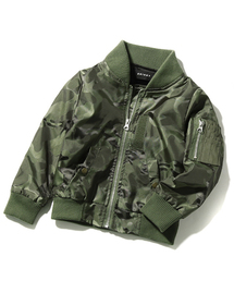 bd09723e6215f devirock(デビロック)の「裏ベロア付きカモフラMA-1ジャケット(ブルゾン