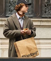 ビーバーメルトンロングチェスターコート2019WINTER(EMMA CLOTHES)チャコール