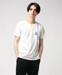 TOP HYS pt ヘンリーネックTシャツ