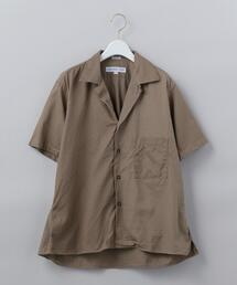 <INDIVIDUALIZED SHIRTS>OPEN COLLAR SHORT SLEEVE SHIRT/シャツ Ψ