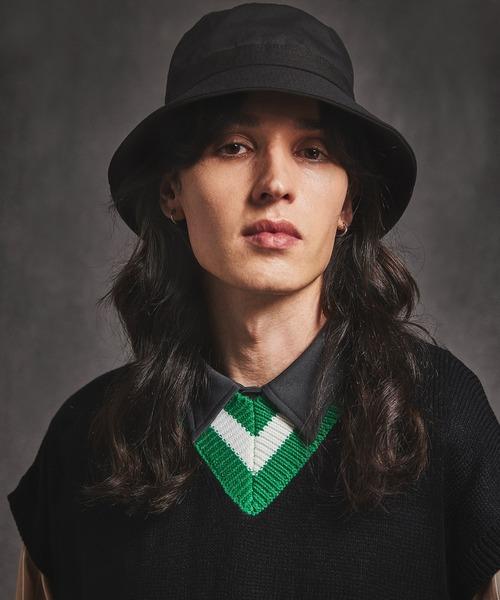 コットンバケットハット Cotton Bucket Hat(EMMA CLOTHES)