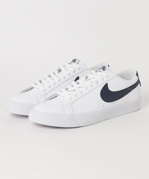 wholesale sales official photos best selling NIKE SB ZOOM BLAZER LOW (WHITE/OBSIDIAN) 【SP】