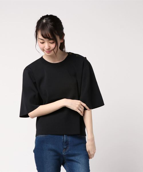 大きな取引 【セール】キンボタンTシャツ(Tシャツ/カットソー)|allureville(アルアバイル)のファッション通販, アンド as:03393228 --- fahrservice-fischer.de