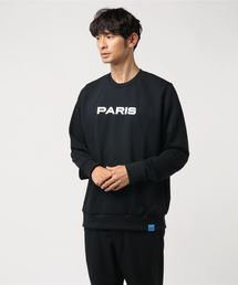 Sweat noir PARIS(スウェット)