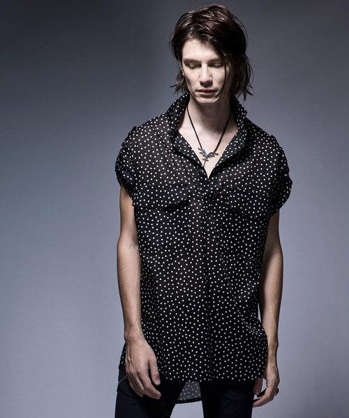 kiryuyrik(キリュウキリュウ)の「BigPullOverShirt(シャツ/ブラウス)」|ブラック系その他