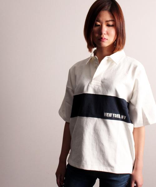 【WEB&DEPOT限定】ラガーシャツ 半袖/ S/S RUGGER SHIRT