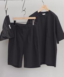 【WEB限定】 by ストレッチ セットアップ/Tシャツ&ショーツ
