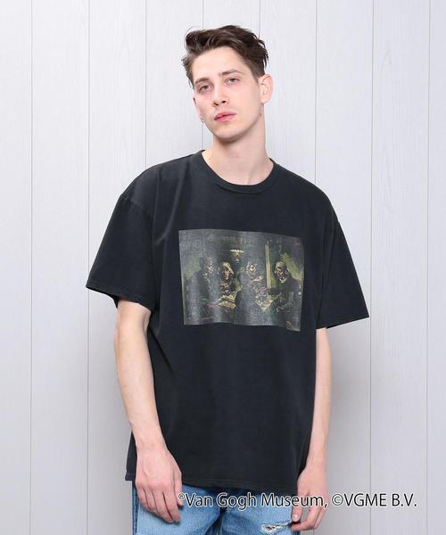 <UNUSED×Van Gogh Museum>A PTT T-SHIRT/Tシャツ.