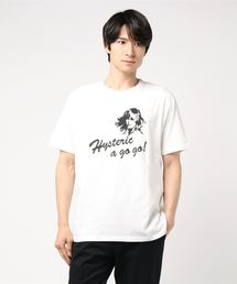 HYS A GO GO! pt Tシャツホワイト
