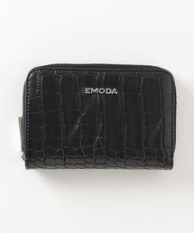 EMODA(エモダ)の【EMODA/エモダ】クロコ型押しミニウォレット(財布)