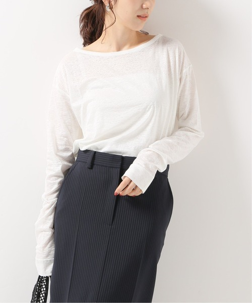 国産品 【N.Jam】リネンロングTシャツ &◆(Tシャツ アンド/カットソー) Span,スピック|NOBLE(ノーブル)のファッション通販, スマホケース専門店 luxyer:582e9dfe --- wiratourjogja.com