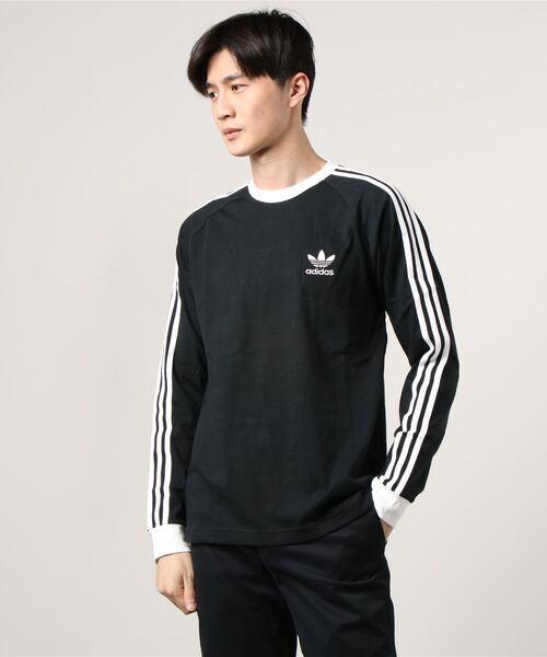 adidas アディダス アディカラー クラシックス 3ストライプ ロングスリーブ Tシャツ 3 STRIPES LS TEE