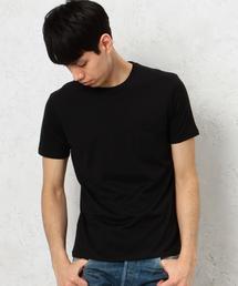 KC ◎GIZA ポケット C/N S/S Tシャツ◆