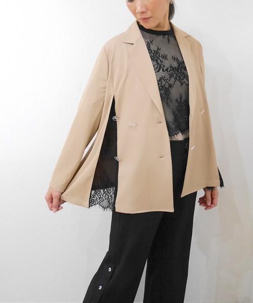 素晴らしい 【セール】サイドレースジャケット(テーラードジャケット)|SUPERTHANKS(スーパーサンクス)のファッション通販, あかりタウン:b9c043c9 --- svarogday.com