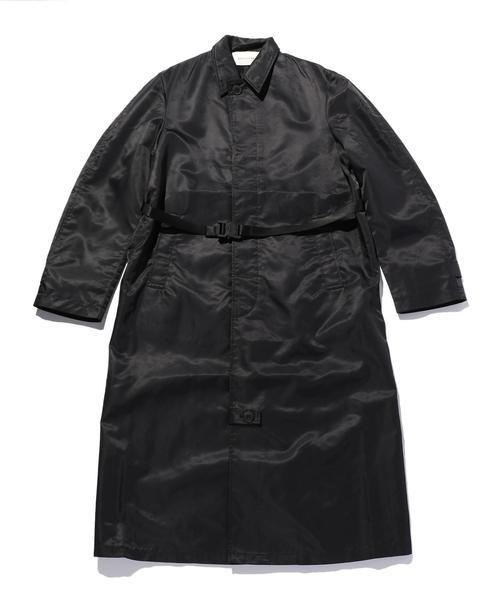 <1017 ALYX 9SM> BLACK TRENCH COAT/トレンチコート