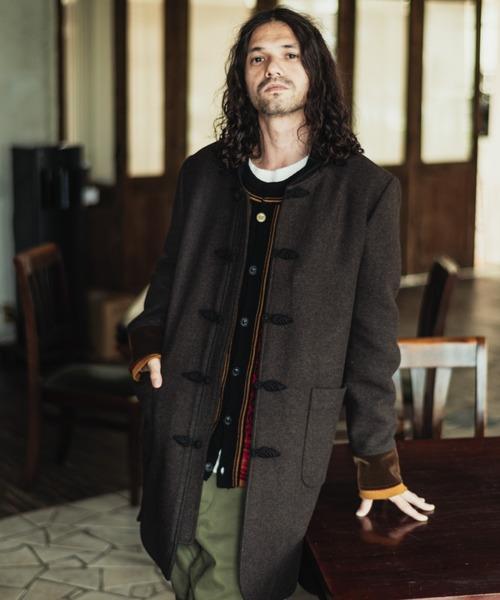 Melton china coat / メルトンチャイナコート