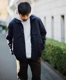 ☆【さまになるミリタリーブルゾン】< 機能性 / ストレッチ > PV タイプライター BDU シャツ ジャケット