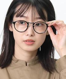 ボストン型伊達眼鏡 9465 SPIブラック