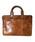 DECADE(ディケイド)の「アンティックホースレザー・ミニブリーフバッグ(No-01013) Antique Horse Leather Mini Business Bag ビジネス(ビジネスバッグ)」|ブラウン