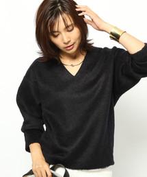 BARNYARDSTORM WOMEN(バンヤードストーム ウィメンズ)の「BARNYARDSTORM / シャギージャージープルオーバー(Tシャツ/カットソー)」