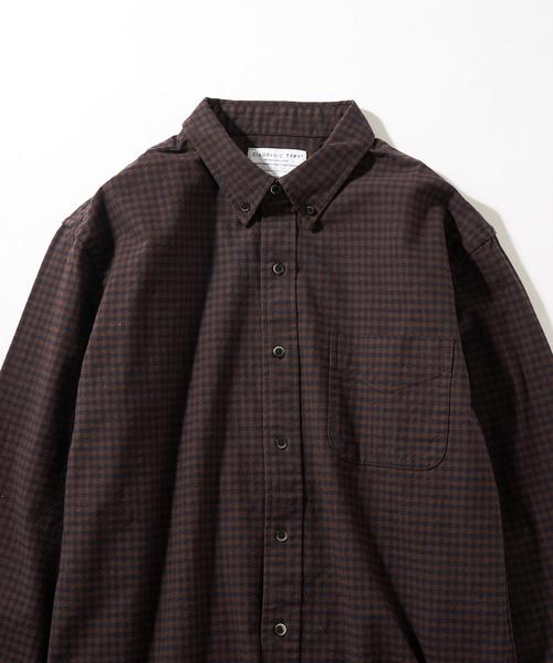 21ヘビーオックスギンガムシャツ