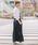 Munich(ミューニック)の「8ozデニムジャンパースカート(ジャンパースカート)」 ネイビー