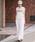 Munich(ミューニック)の「8ozデニムジャンパースカート(ジャンパースカート)」 ホワイト