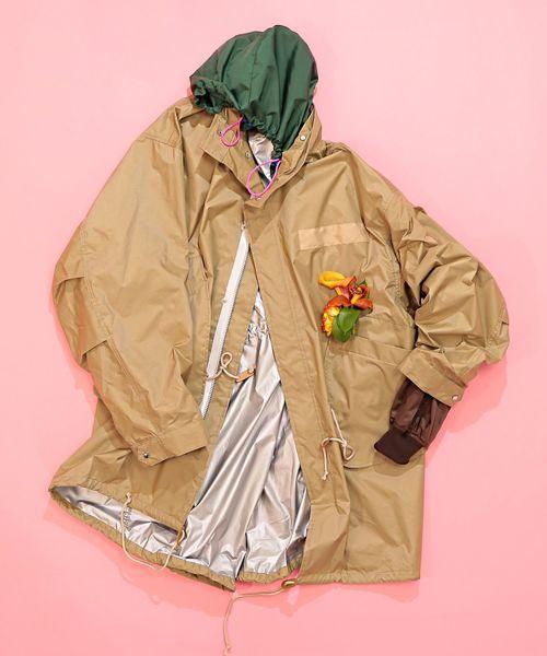 憧れ elephant Inside TRIBAL fabrics Inside TRIBAL Out Mods Court(モッズコート) Mods|elephant TRIBAL fabrics(エレファントトライバルファブリックス)のファッション通販, e.alamode(イーアラモード):296dadac --- arguciaweb.com