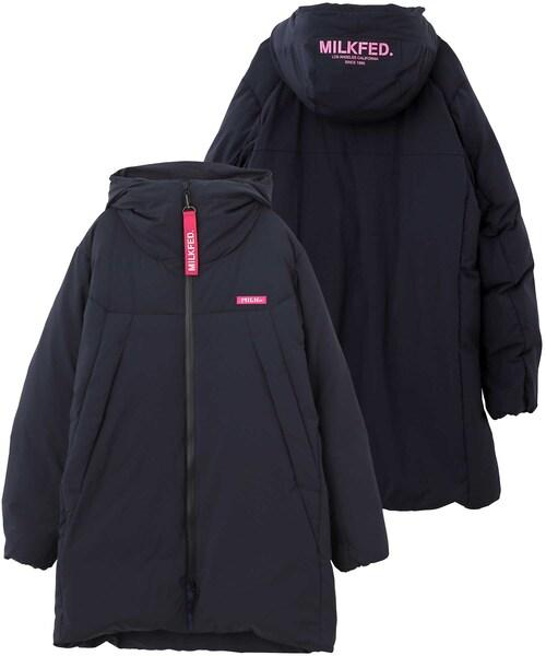 品多く LONG DOWN JACKET(ダウンジャケット/コート) DOWN|MILKFED.(ミルクフェド)のファッション通販, ブライダルアクセ専門店ブルージュ:a7352924 --- skoda-tmn.ru