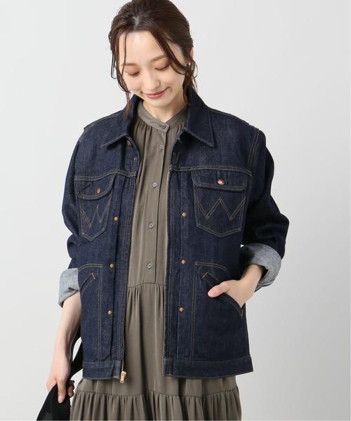 卸し売り購入 【Wrangler/ WORKS ラングラー】24MJZ jacket(デニムジャケット)/|JOINT WORKS(ジョイントワークス)のファッション通販, SUPER RAG:c14ef798 --- fahrservice-fischer.de