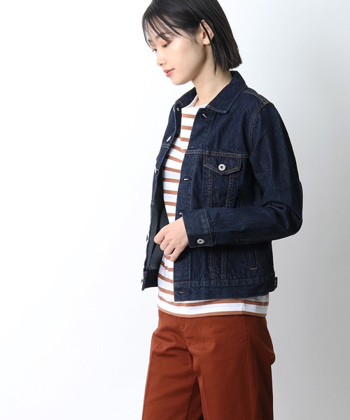 【 GRANDMA MAMA DAUGHTER / グランマ ママ ドーター 】# DENIM JACKET ONE WASH GJ53091W1·