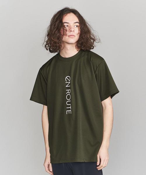 <EN ROUTE(アンルート)>ランニングTシャツ ビッグロゴ