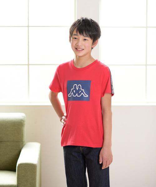 e6dbce3b8af05 Kappa カッパ 半袖Tシャツ(Tシャツ カットソー) しまむら(シマムラ ...
