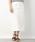 LEPSIM(レプシィム)の「コットンポリウレタンミディナロースカート 822730(スカート)」|オフホワイト