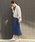 LEPSIM(レプシィム)の「コットンポリウレタンミディナロースカート 822730(スカート)」|詳細画像