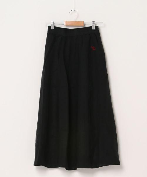 【 Le Sans Pareil / ルサンパレイユ 】LINEN SOLID PANEL SKIRT リネン ソリッドパネルスカート