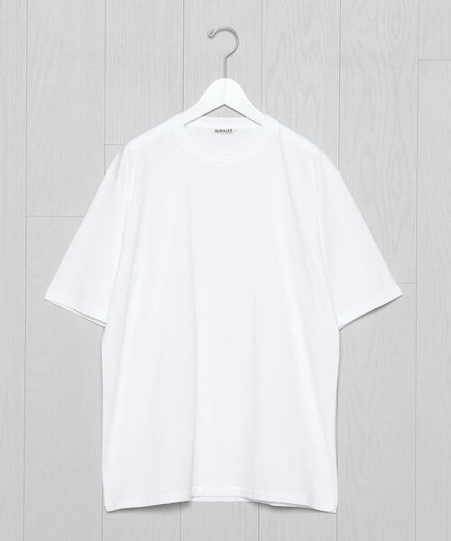 <AURALEE>LUSTER PLAITING T-SHIRT/Tシャツ.