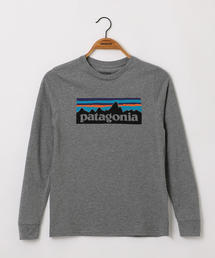 ★【patagonia(パタゴニア)】12 K ロングスリーブ グラフィック Tシャツ