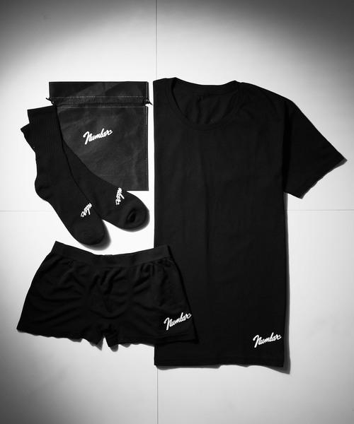 【NUMBER (N)INE】특별주문 상품 3아이템 T셔츠/삭스/복서 팬츠 세트