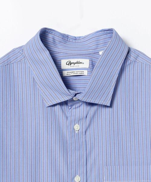 GYMPHLEX / ストライプ シャツ