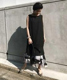 AMERI(アメリヴィンテージ)のGEOMETRY ART 3WAY DRESS(ドレス)