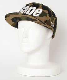 1ST CAMO BAPE NEW ERA SNAP BACK CAP M(キャップ)