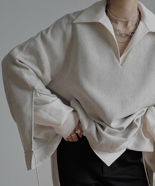 【chuclla】【2021/SS】Drawstring pullover chw1486